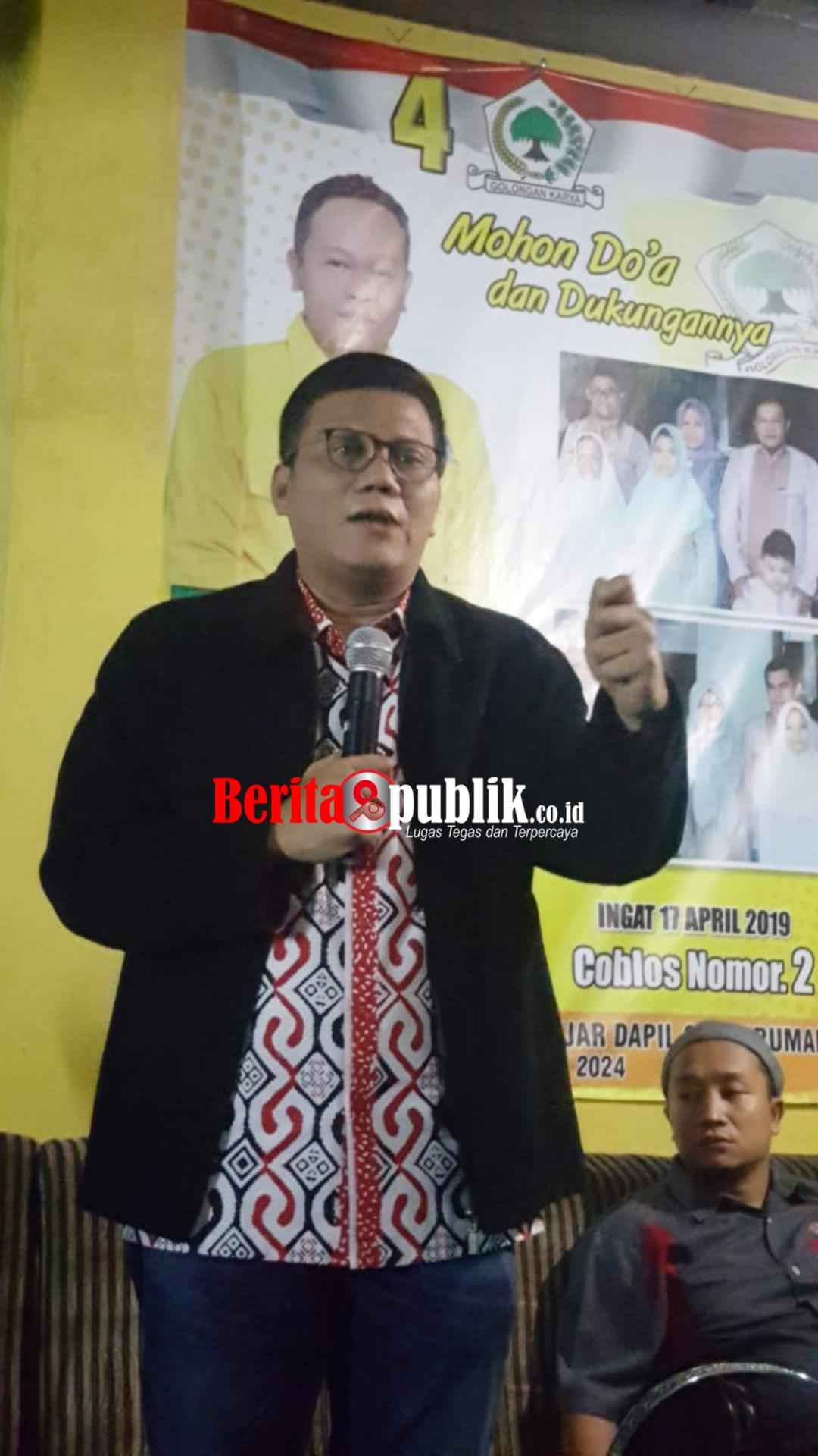 Kholis Malik Caleg Golkar Nomor Urut 2, Dapil Jabar X