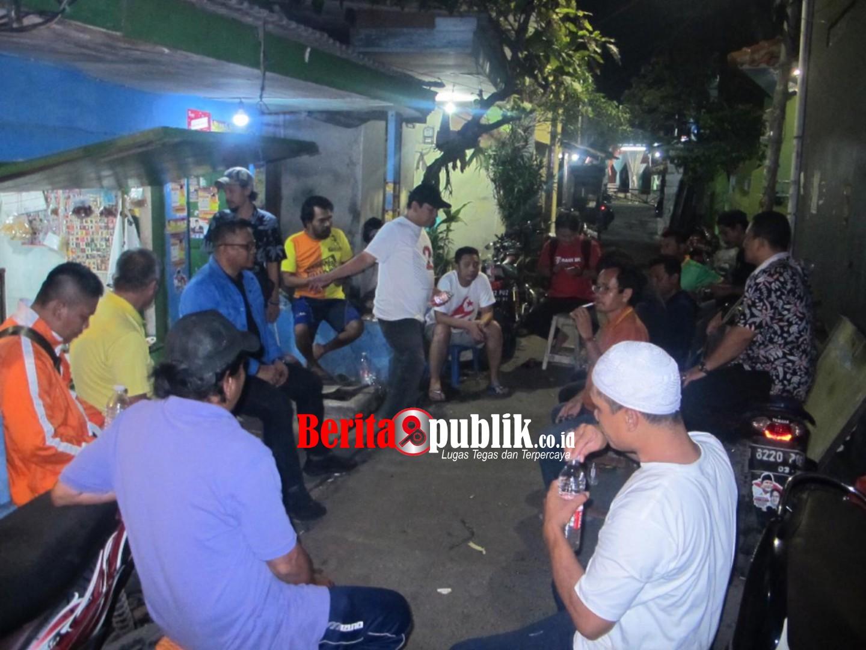 Caleg DPR RI PAN, Basiruddin Blusukan Temui Warga