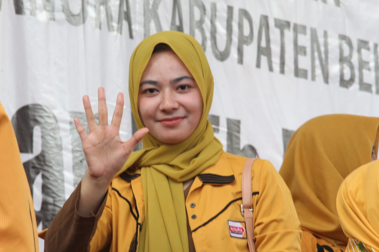 Calon Legislatif (Caleg) DPRD Kabupaten Bekasi dari Partai Hanura, Ayu Dwi Bestary