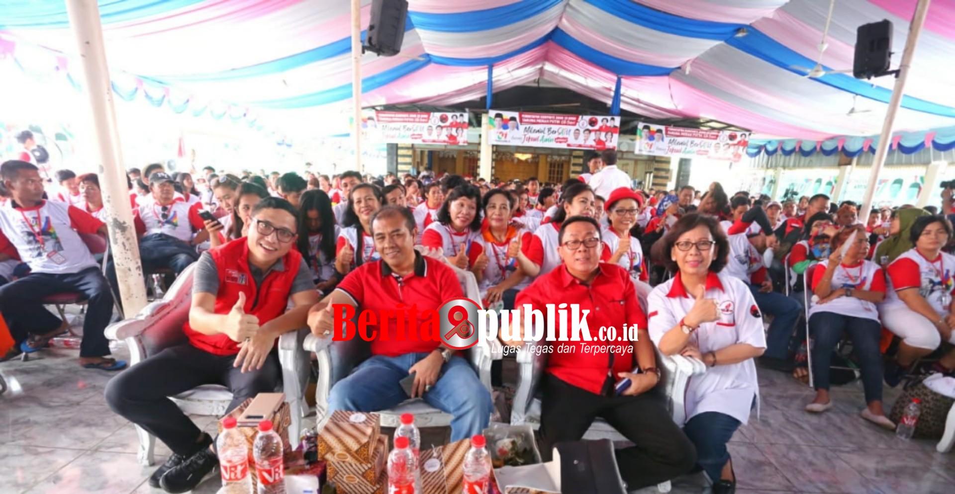 TMP Deklarasi Dukung Pasangan Jokowi-Amin