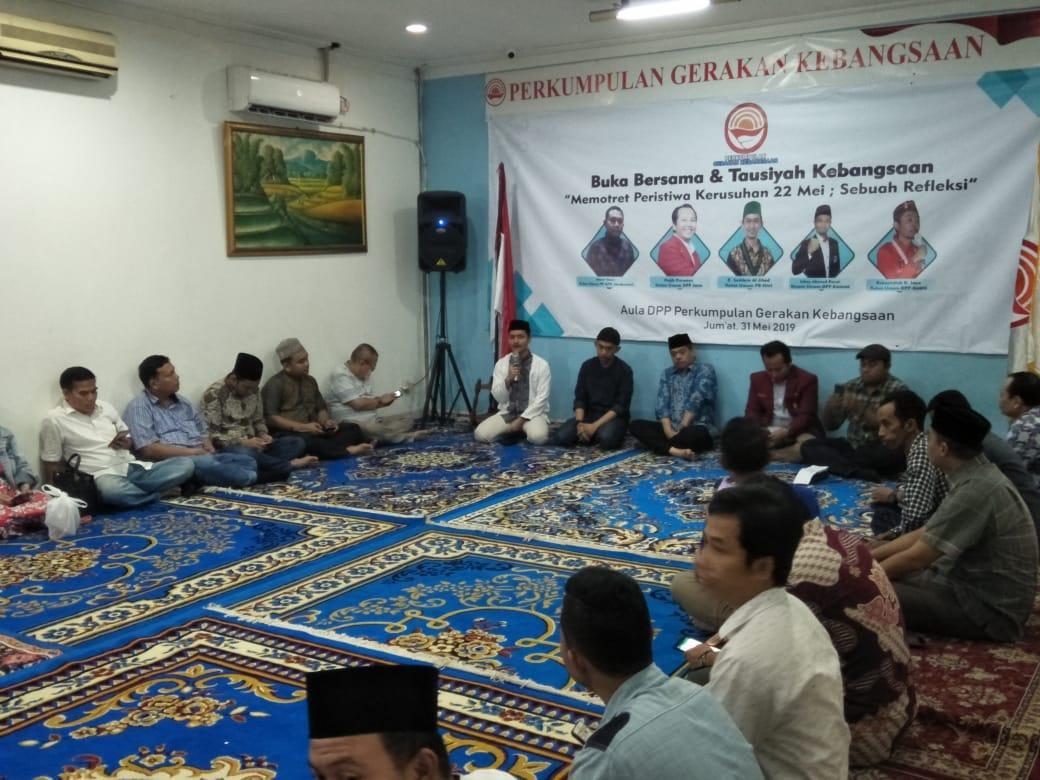 Indonesian Public Institute Gelar Buka Bersama dan Diskusi Ujaran Kebencian di PGK