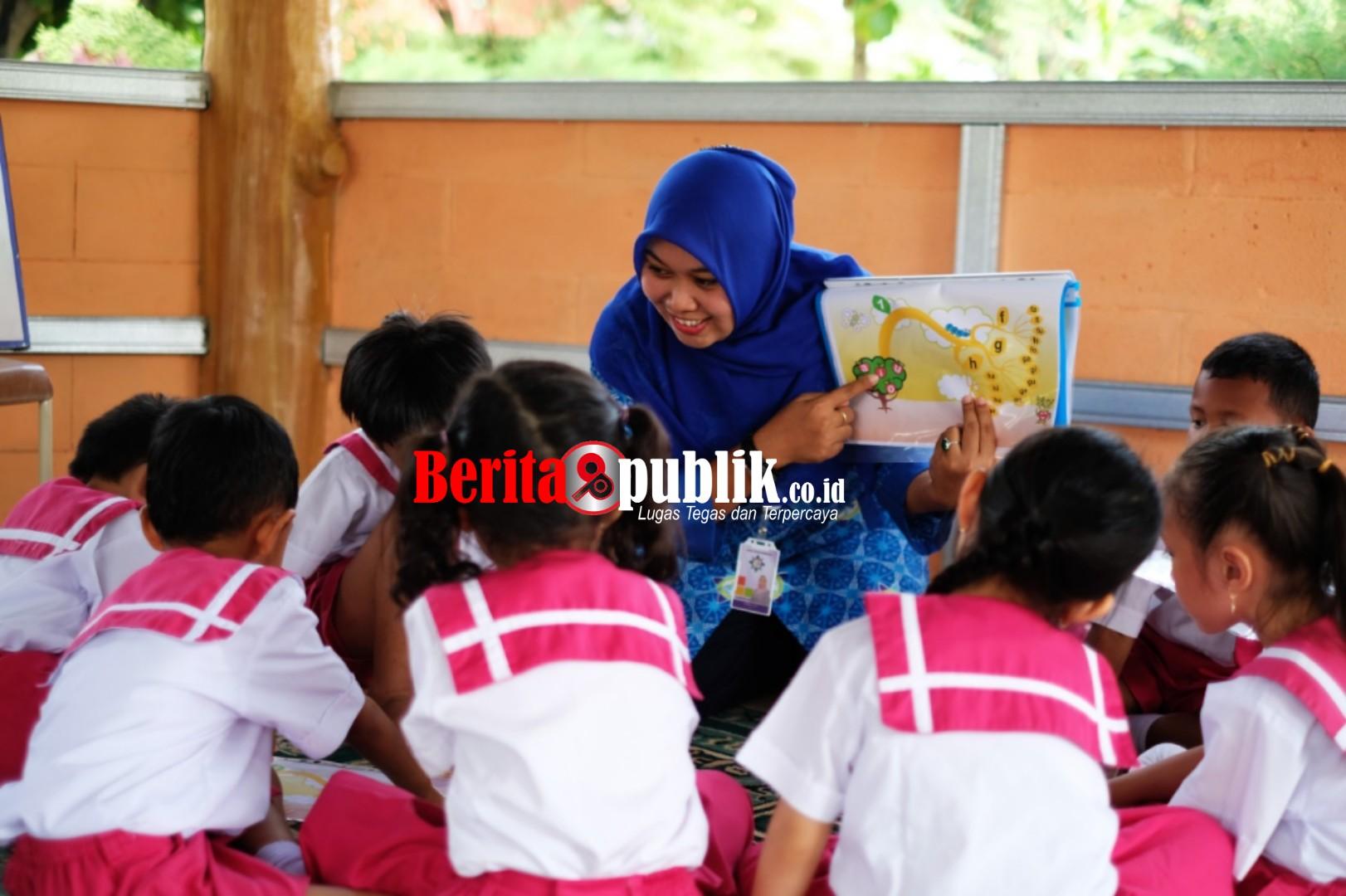 Kegiatan Belajar Mengajar Lembaga Nasional Satu atau Nassa School Bekasi