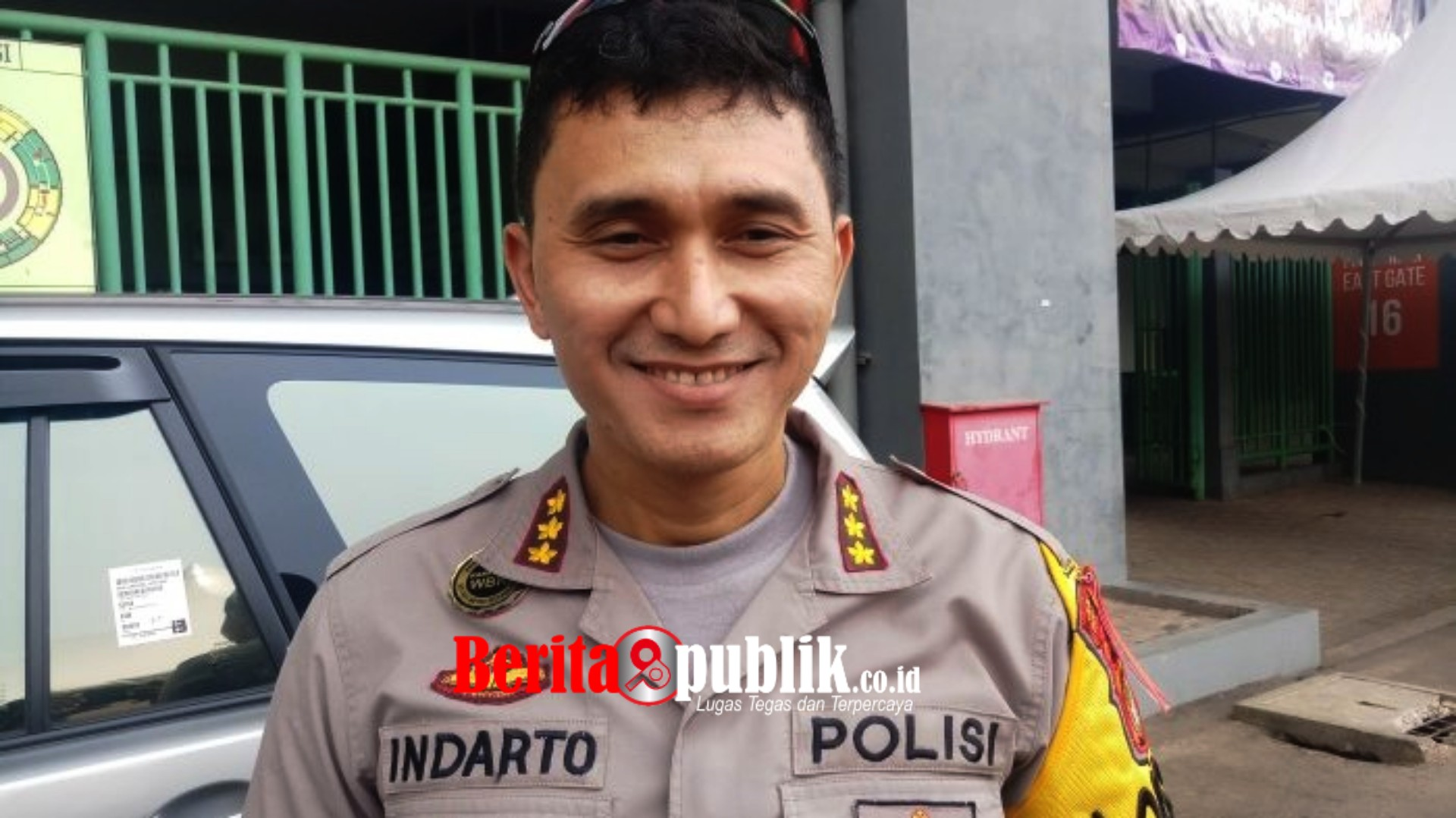 Kapolres Metro Bekasi Kota, Kombes Indarto.