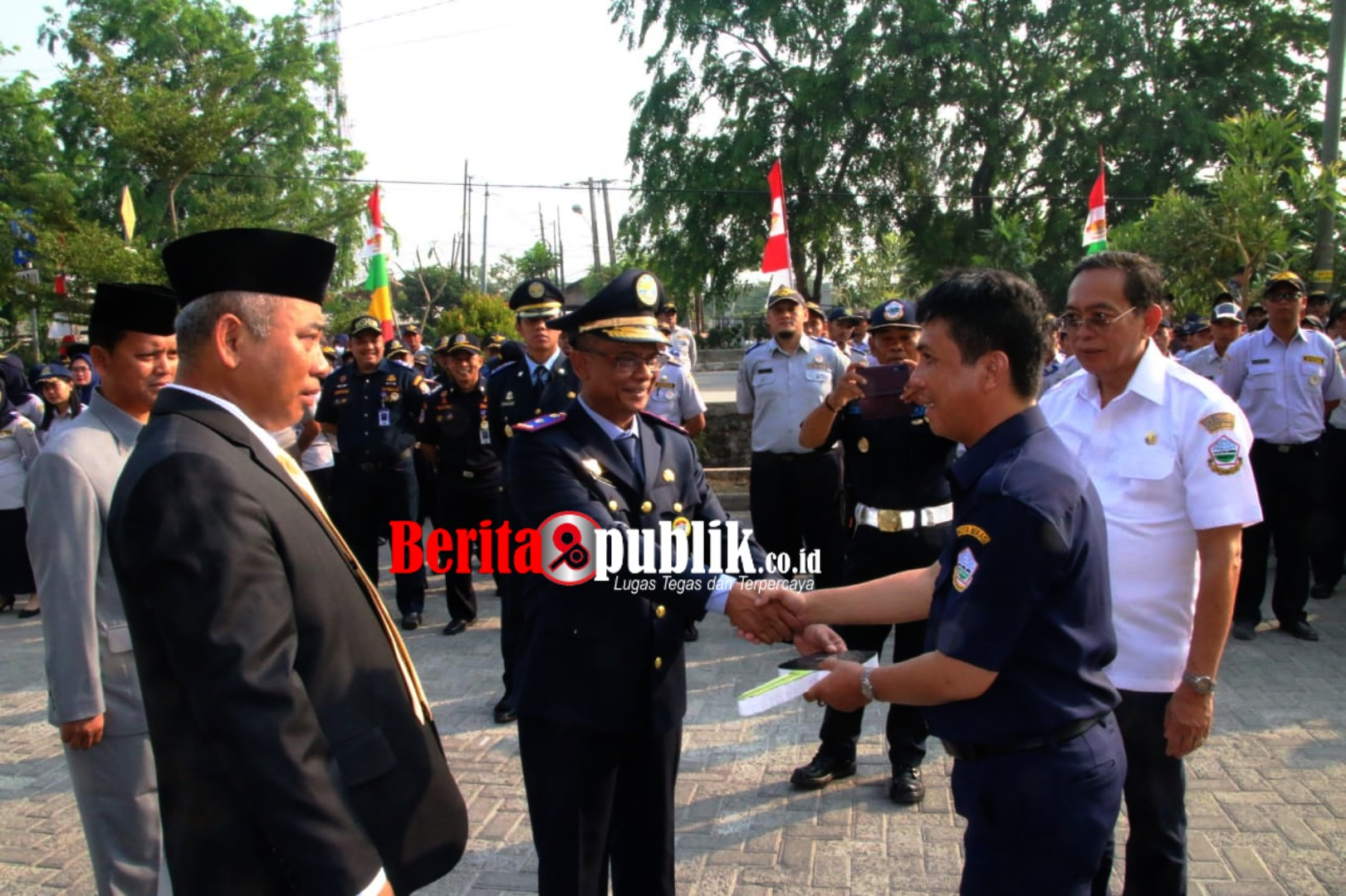 Peringati Hari Perhubungan Nasional Tingkat Kota Bekasi.