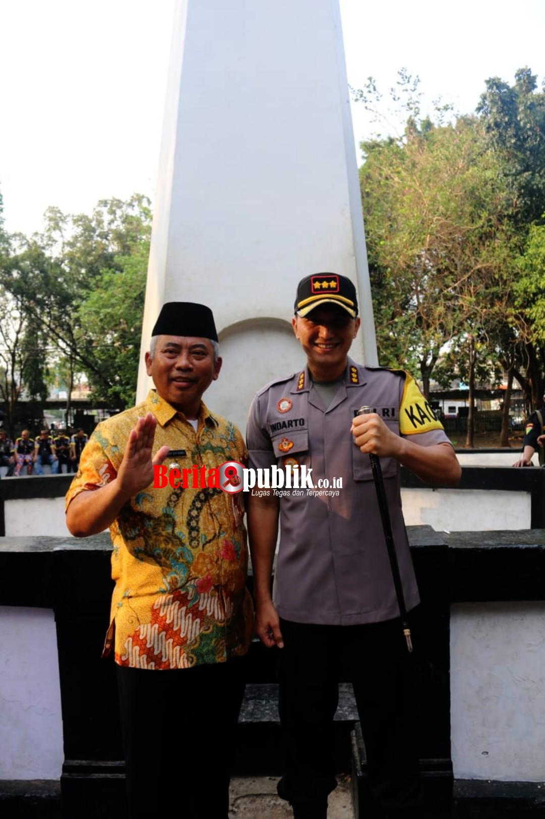 Wali Kota Bekasi Ajak Masyarakat Jaga Kondusifitas.