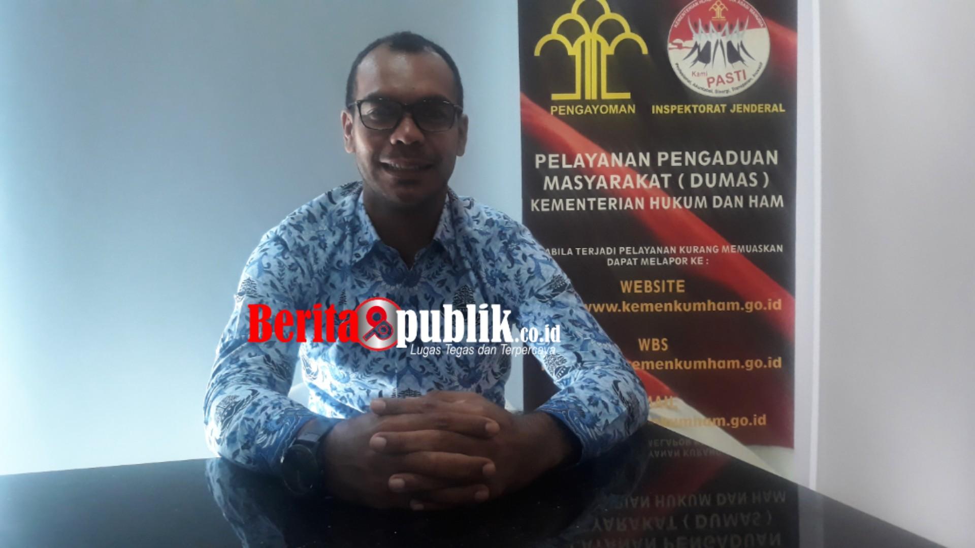 Kepala Imigrasi Kelas II Non TPI Bekasi, Petrus Teguh
