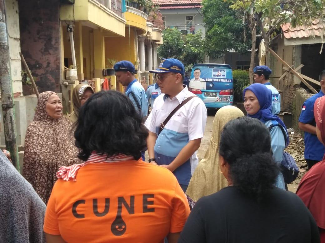 Ronny Hermawan Tanggapi Persoalan Banjir.