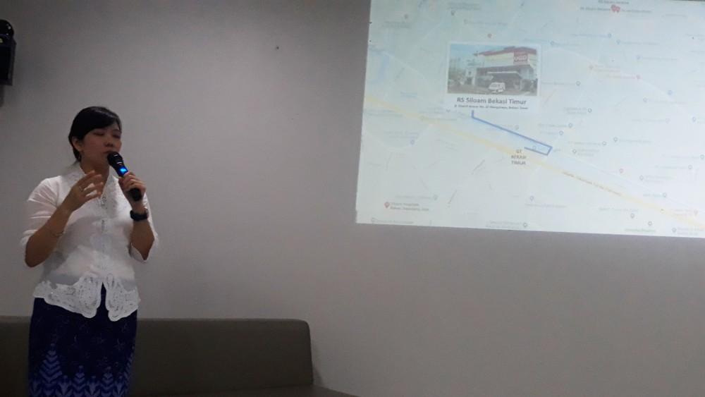 dr. Ervina, Direktur Rumah Sakit Siloam Bekasi Timur.