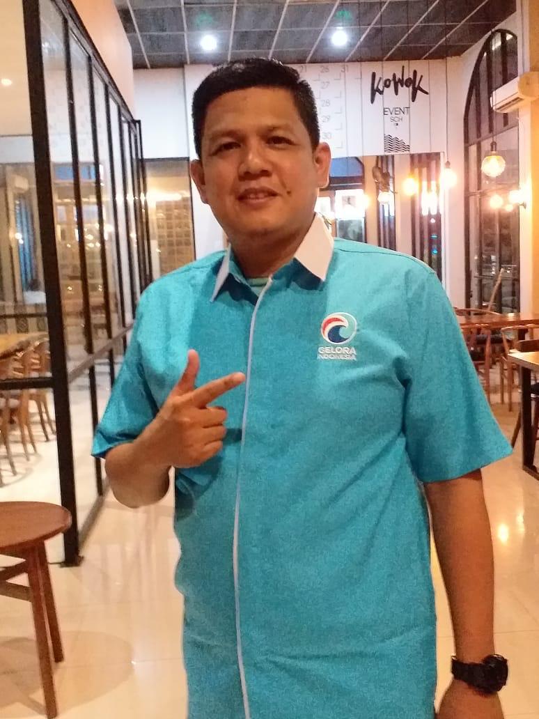 Ketua Umum DPD Partai Gelora Kota Bekasi, Ariyanto Hendrata.