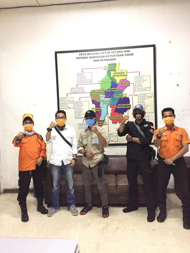 Gerakan Relawan Bekasi Bersatu (Gerebek), Rabu (8/4).