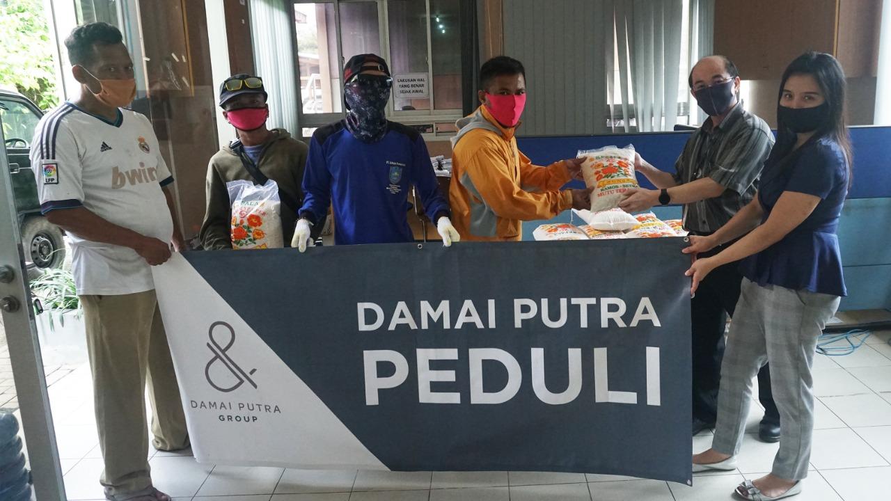 Pandemi COVID-19, Damai Putra Group (DPG) Peduli sesama, Senin, (27/4).
