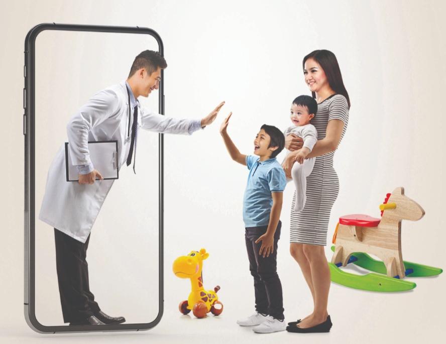 Foto Caption : (Ilustrasi), Siloam Hospitals Luncurkan Pelayanan Rawat Jalan Secara Online, Selasa, (5/5).