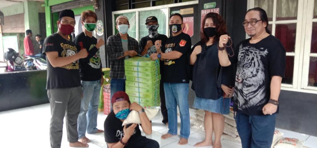 Gibas Cinta Damai Resort Kota Bekasi,Jumat, (22/5).