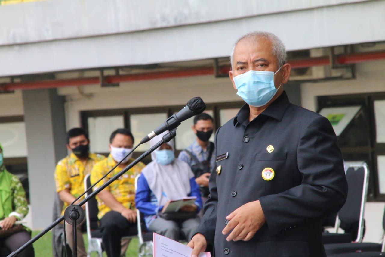 Walikota Bekasi, Rahmat Effendi, Kamis, (6/8).