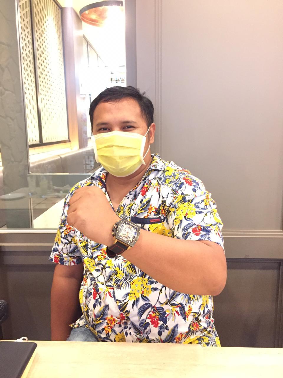 Ketua Himpunan Pengusaha Kosgoro (HPK) 57 Kota Bekasi, H. Zainul Miftah, Kamis, (13/8).