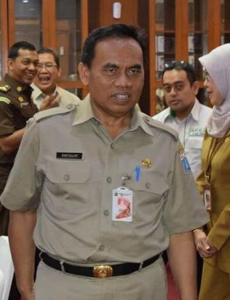 Sekretaris Daerah Provinsi DKI Jakarta Saefullah