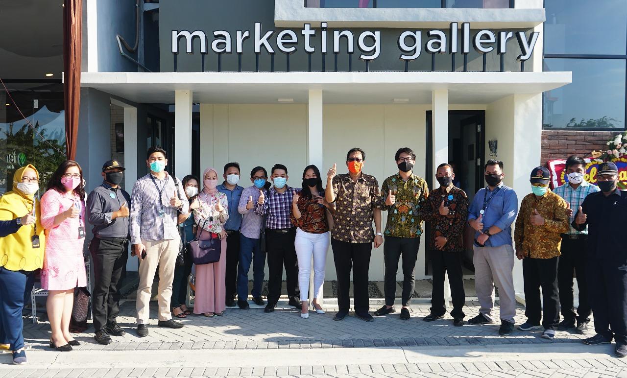 PeresmianMarketing Gallery Tera Damai, Kamis (17/9).