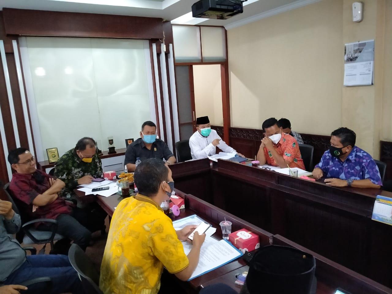 Komisi I DPRD Kota Bekasi Helat Rapat dengan Direksi Tirta Patriot, Kamis, (24/9).