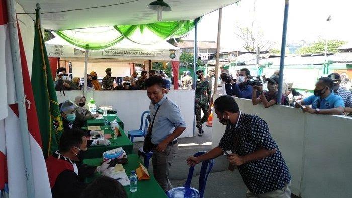 Operasi Yustisi Terminal Induk Bekasi, Bekasi Timur.