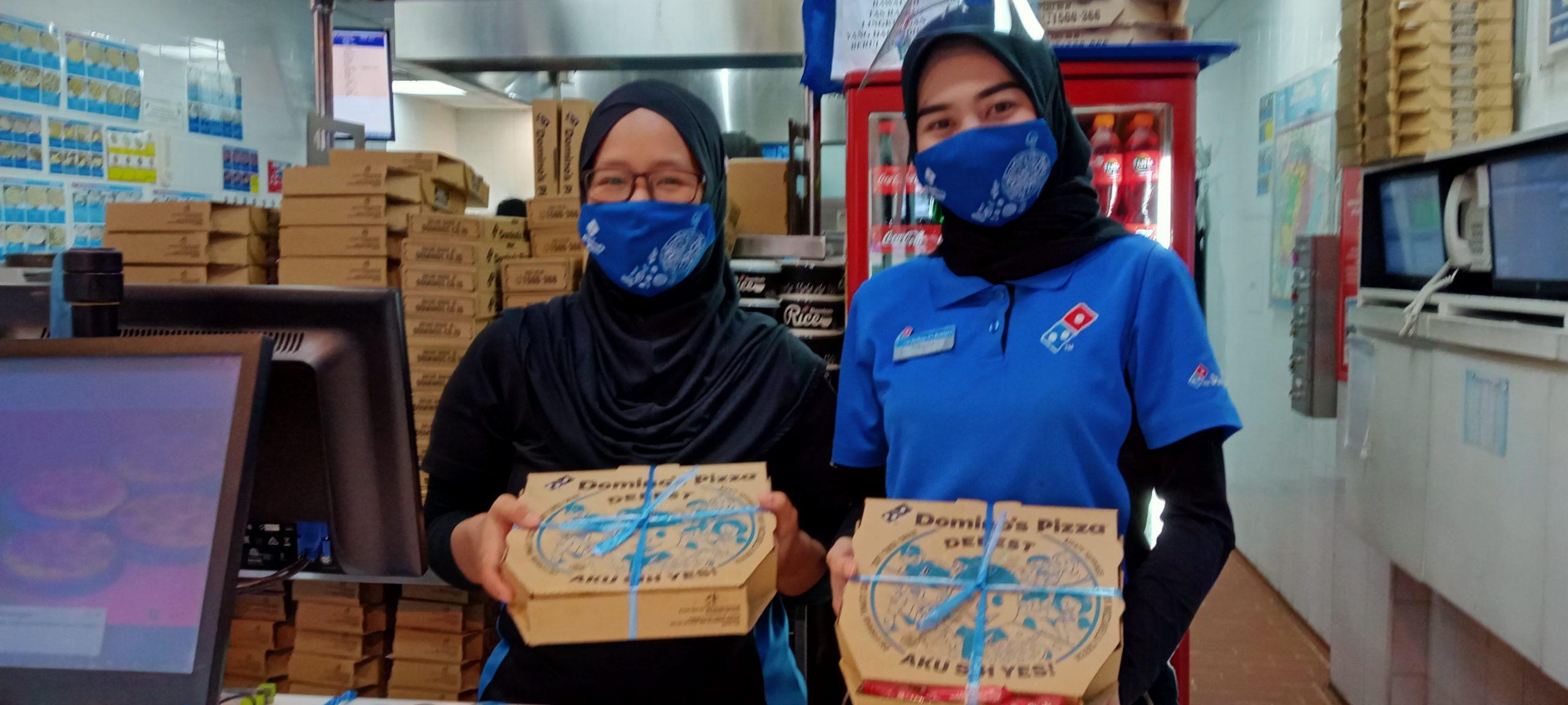 Dominos Pizza Grandwisata Berikan Promo Menarik, Rabu, (7/10).