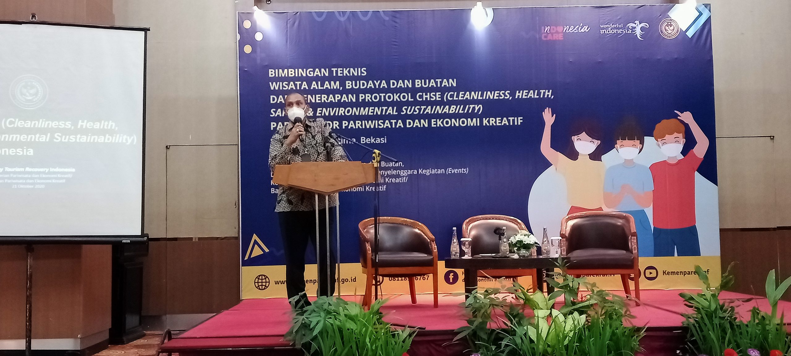 Direktur Wisata Alam, Budaya, dan Buatan Kemenparekraf/Baparekraf, Alexander Reyaan, Rabu (21/10).