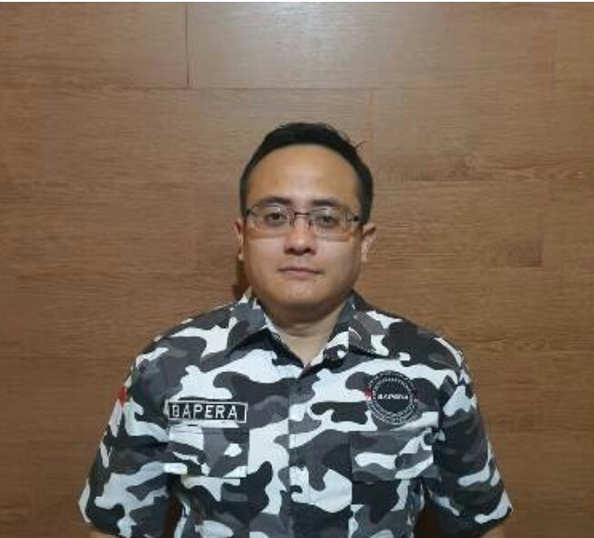 Ketua Umum DPD Pengurus Barisan Pemuda Nusantara (Bapera) Provinsi Jawa Barat Periode 2020 hingga 2025, Raden Andreas Nandiwardhana Resmi Dilantik, Rabu, (25/11).