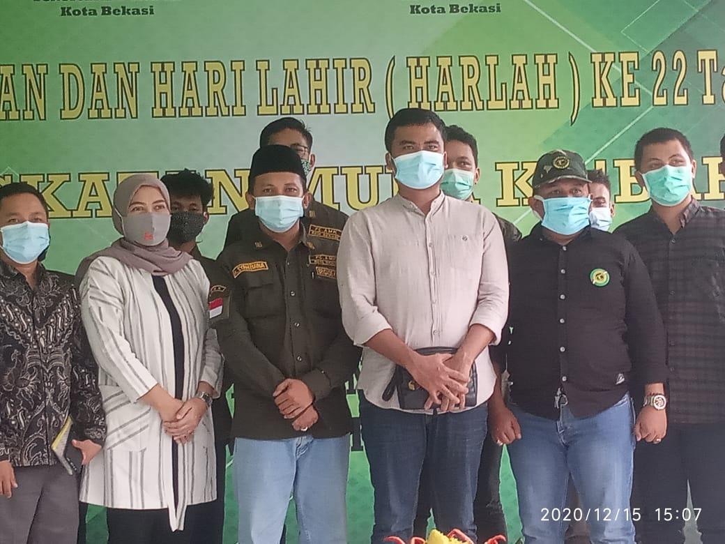 Hari Lahir (Harlah) ke 22 tahun, Ahmad Syahbana resmi terpilih sebagai Ketua Angkatan Muda Ka'bah (AMK) Partai Persatuan Pembangunan (PPP) Kota Bekasi, Jawa Barat, Rabu, (16/12).