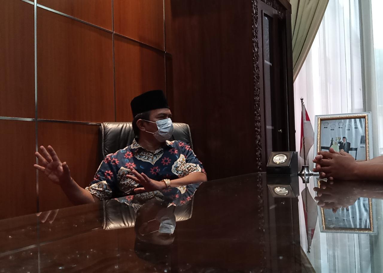 Wakil Ketua I DPRD Kabupaten Bekasi H. Muhammad Nuh, Jumat, (5/2).